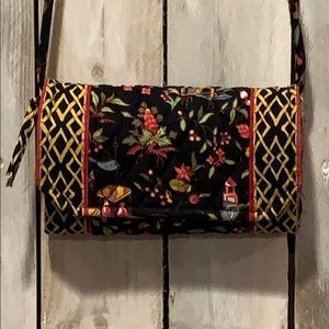 Vera Bradley Ming Clutch Wallet Crossbody Bag EUC
